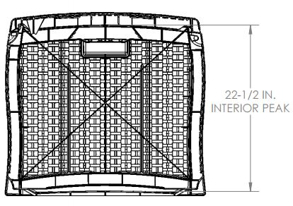 Side View Internal Dimensions