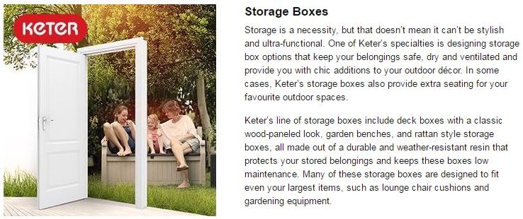 Advantages of the Borneo Storage Box