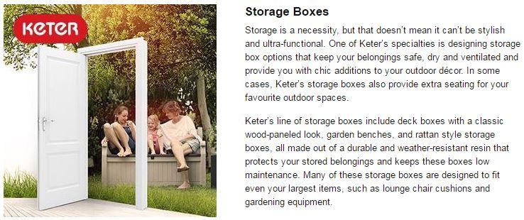 Advantages of the Borneo Storage Box