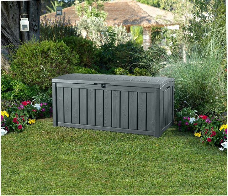 Glenwood Deck Box   Anthracite Grey