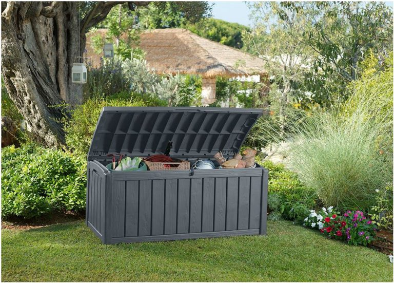 Glenwood Storage Box Accommodating Gardening Equipment