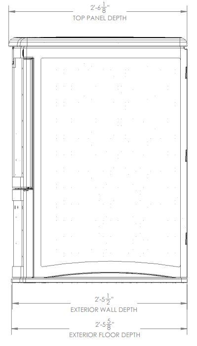 External Measurements - Side View