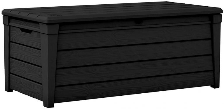 Brightwood Deck Box displaying Anthracite Grey Shade