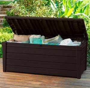 Brightwood Deck Box - Brown Shade