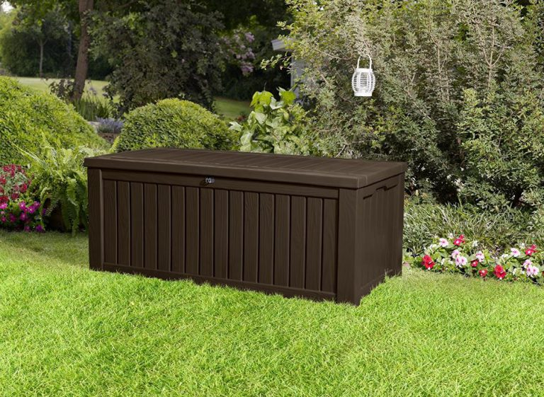 Plastic Garden Storage Boxes - Rockwood Deck Box