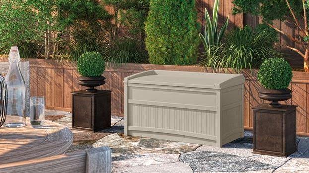 Suncast 50 Gallon Patio Deck Box