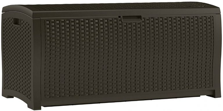 Suncast's Sublime Wicker Appearance Deck Box