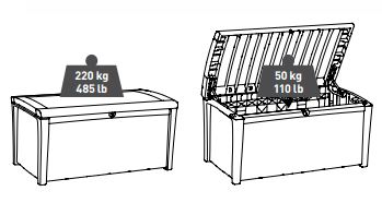 Borneo Box Weight Capacity