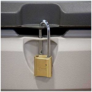 Padlockable for Security