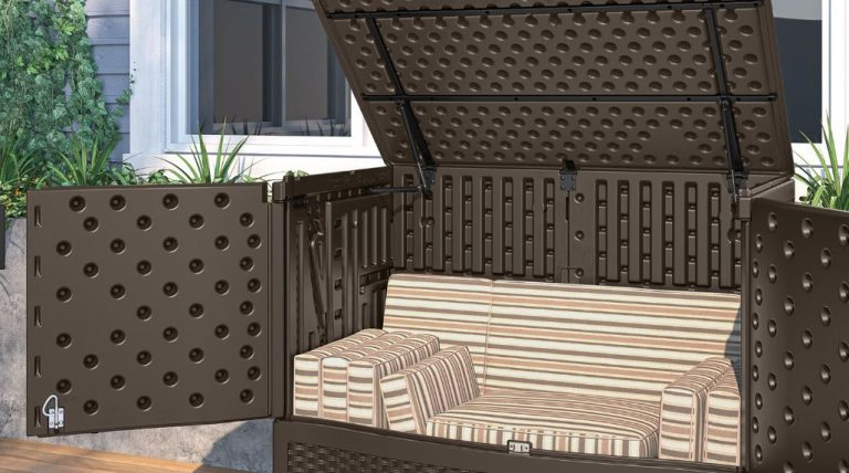 Suncast Extra Large Vertical Deck Box