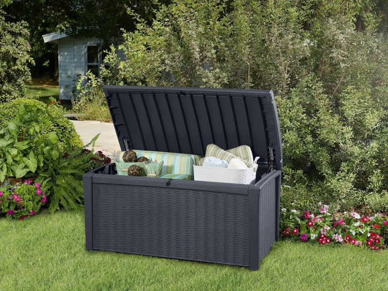 Borneo Storage Box - Presented in Wicker Grey