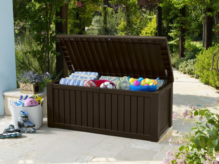 Rockwood Deck Box - Dark Oak Shade