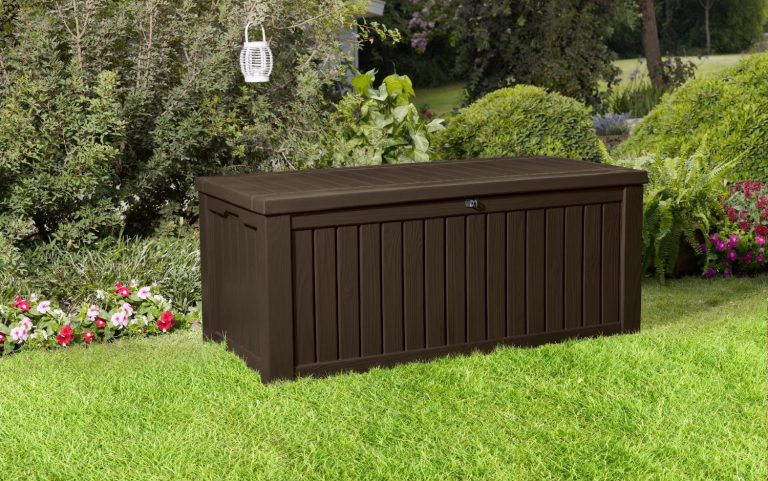 Plastic Garden Storage Boxes Weather Resistant Sheds