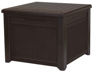 Keter Rattan Effect Storage Cube
