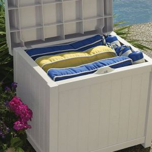 Outdoor Seating Cushion Storage