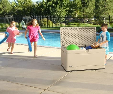 Super-Favourable Outdoor Toy Box Solution
