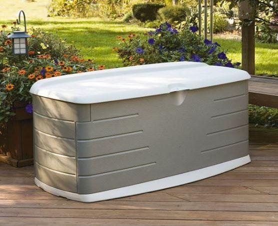 Rubbermaid Large Deck Storage Box