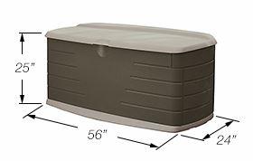 Rubbermaid Large Deck Box Measurements