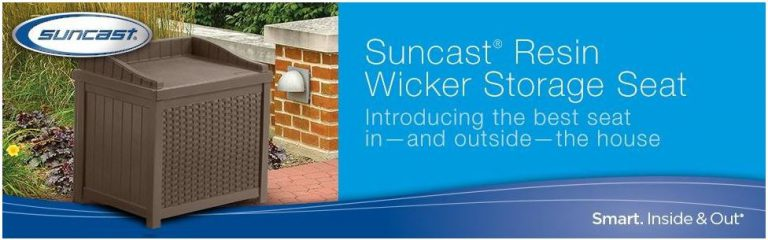 Suncast's best seat in and outside the house