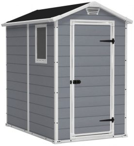 Manor 4 x 6 ft Resin Shed