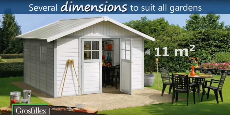 Grosfillex PVC Deco Sheds / Summerhouses