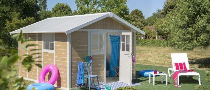 Pvc storage sheds pvc summerhouses quality plastic sheds - Casetas jardin pvc ...