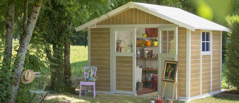 Pvc storage sheds pvc summerhouses quality plastic sheds for Casetas para guardar cosas