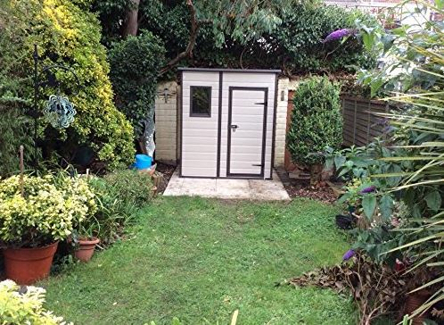 keter 6x4 plastic shed instructions