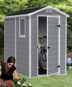 Plastic Garden Sheds 6x4 Manor 4 X 6 Ft Shed