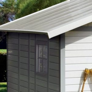 Deco Sheds Extended PVC Roof