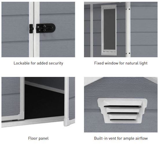 Manor Pent's Additional Features
