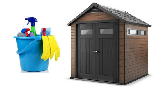 How To Clean A Plastic Shed