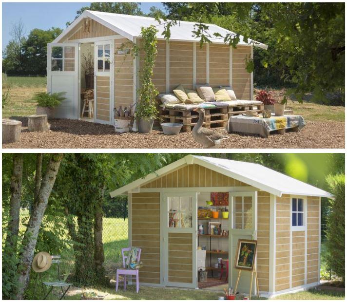 Plastic Garden Summerhouse Sheds