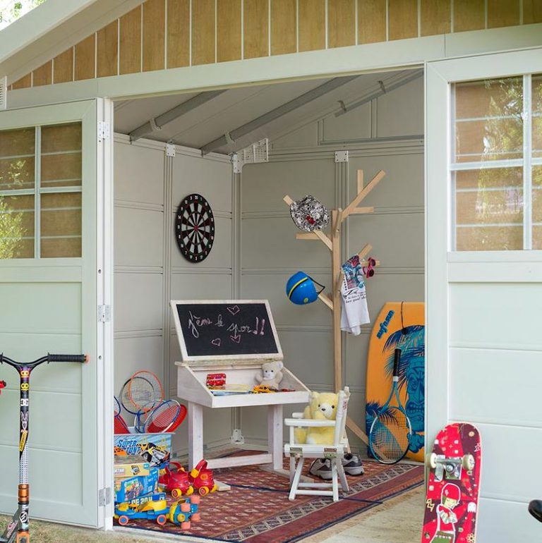 Create the Perfect Outdoor Kids Games Room