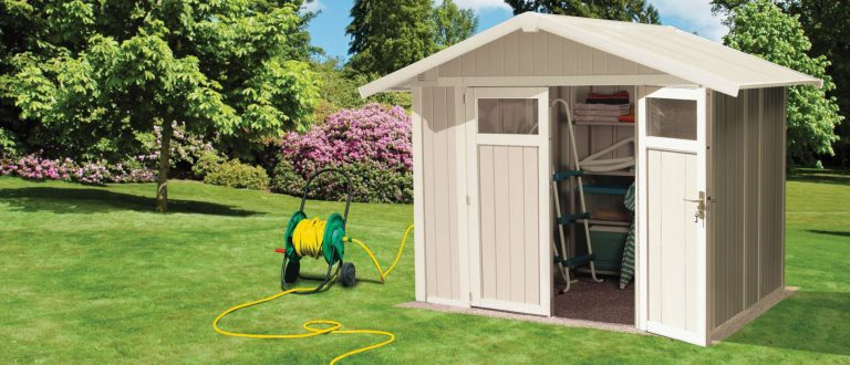 Grosfillex 4.9 m² PVC Utility Garden Shed