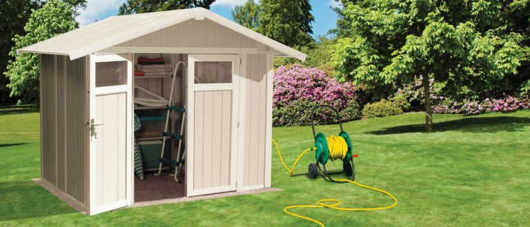 Grosfillex 4.9 m² PVC Utility Shed