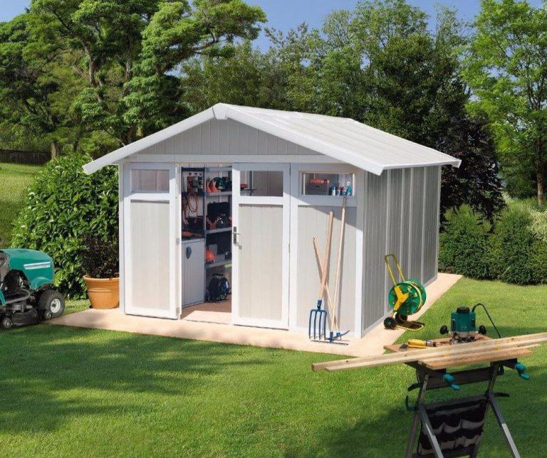 Grosfillex11 m² PVC Utility sheds