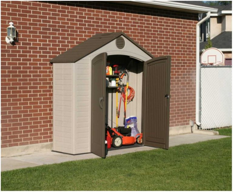 Small Plastic Storage Shed