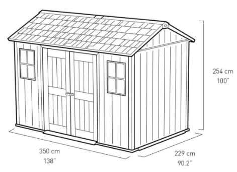 My-Shed Measurements