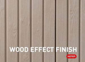 Wood Effect Finish