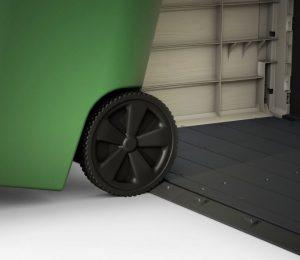 Built-In Floor & Sloped Threshold