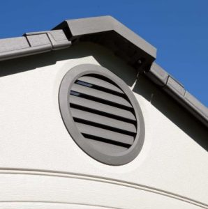 Air-Vents Generate Fresh-Air Circulation
