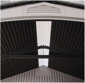 Full Length Skylight & Steel Truss System