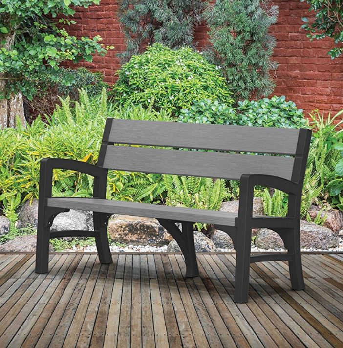Resin Garden Bench Seat Quality Plastic Sheds