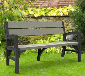 Resin Garden Bench Seat