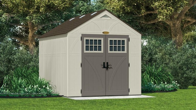 Resin Storage Sheds - Tremont 8 x 10 ft