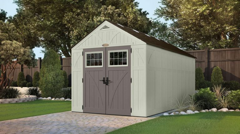 Resin Storage Sheds - Tremont 8 x 16 ft