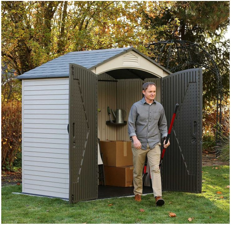 Lifetime 7 x 4.5 ft Garden Shed