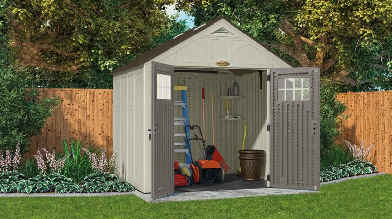 Resin Storage Sheds - Tremont 8 x 10 ft Shed