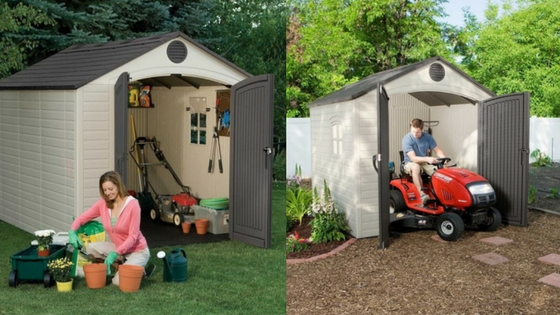 Backyard Resin Storage Sheds
